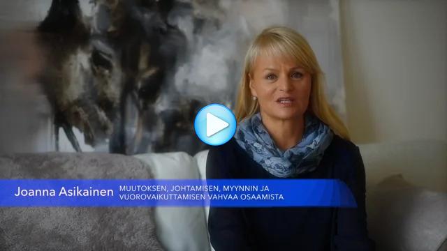 Joanna - esittelyvideo